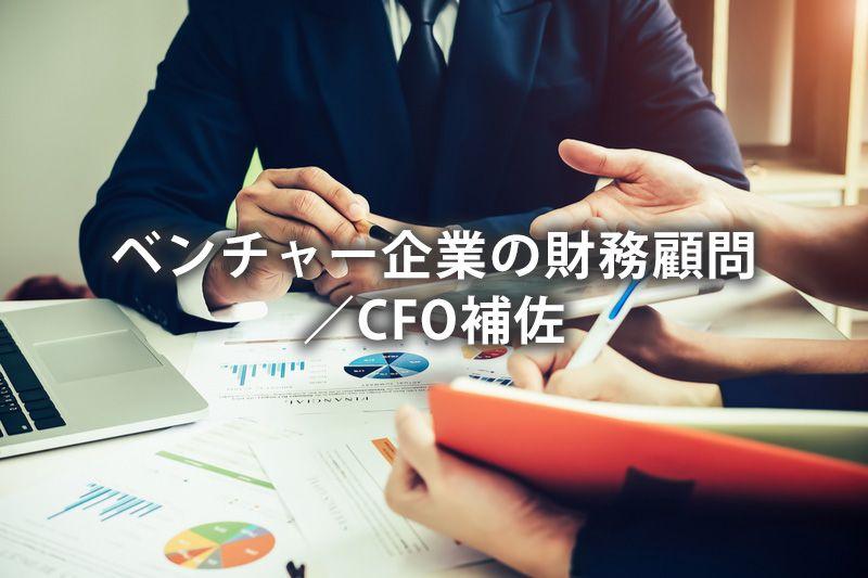 ベンチャー企業の財務顧問/CFO補佐
