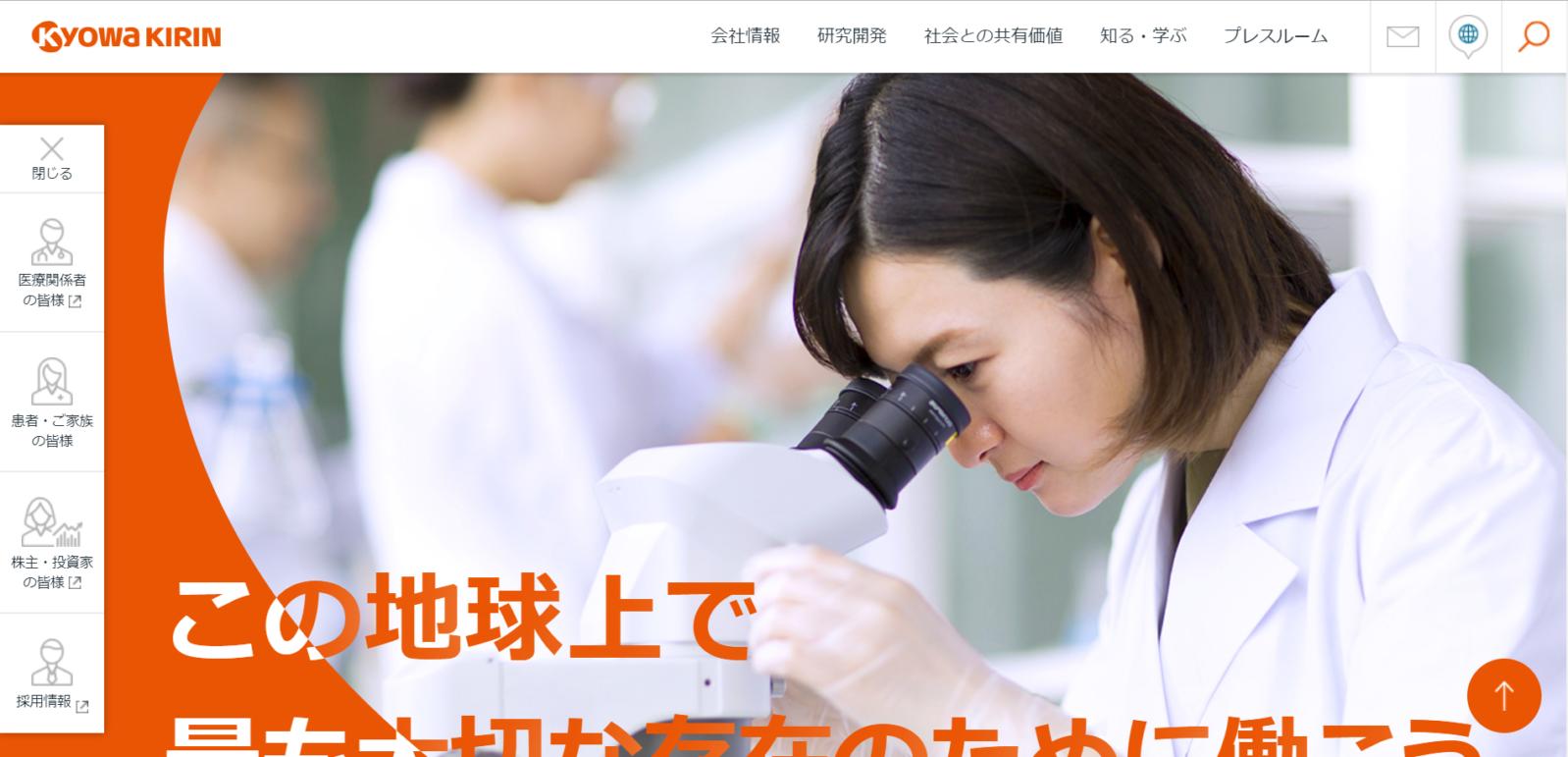 協和発酵キリン株式会社(現:協和キリン株式会社)