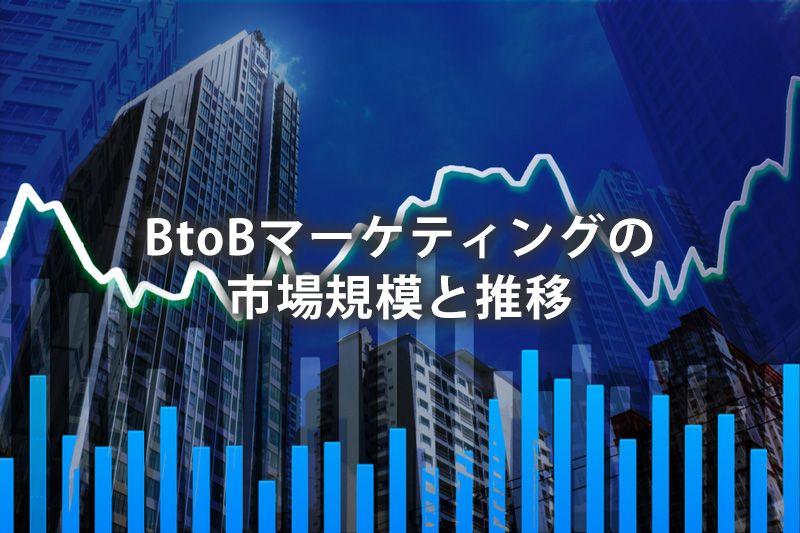 BtoBマーケティングの市場規模と推移